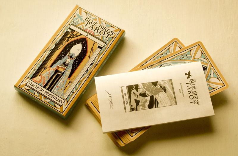 The Blue Birds' Tarot by Tadahiko Kawaguchi(HESOMOGE) with Maki Mikami